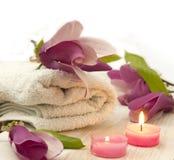Magnolia spa Stock Image