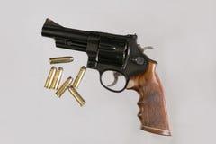 Magnum bleu de l'acier 44 Photo stock