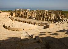 Magnum de Leptis do â de Líbia fotografia de stock