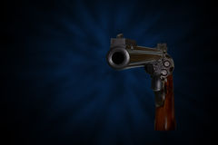 44 magnum revolver Royalty Free Stock Images
