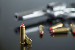 357 Magnum Rounds Stock Photo