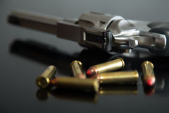 357 Magnum Rounds Stock Photography