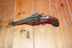 Magnumbuteljvapen för 44 kaliber Fotografering för Bildbyråer