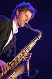 Magnus Lindgren at Kaunas Jazz 2015 Stock Photos