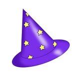 Mago del cappello Fotografie Stock