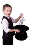 Mago del niño Foto de archivo libre de regalías