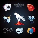 Mago Icons Imagen de archivo libre de regalías