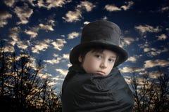 Mago joven en el amanecer Imágenes de archivo libres de regalías
