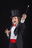 Mago joven feliz fotografía de archivo libre de regalías