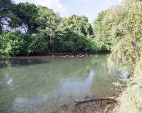 Mago River Omo dal ethiopia Royaltyfria Foton