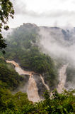 Magod waterfalls in Karnataka Royalty Free Stock Image