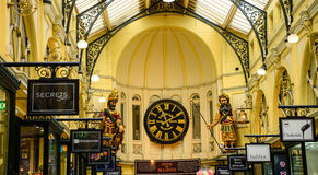 Magog. Melbourne gog at Bourke shopping arcade Stock Photography