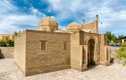 Magoki-Attori清真寺在老镇布哈拉,乌兹别克斯坦 库存图片