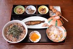 Magome Herbacianego domu jedzenie Japonia Obrazy Royalty Free