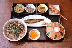 Magome Herbacianego domu jedzenie Japonia Obraz Stock