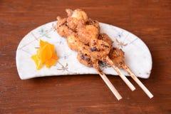 Magome Herbacianego domu jedzenie Japonia Zdjęcia Royalty Free