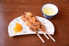 Magome Herbacianego domu jedzenie Japonia Zdjęcie Royalty Free