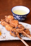 Magome Herbacianego domu jedzenie Japonia Fotografia Royalty Free