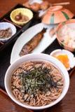 Magome Herbacianego domu jedzenie Japonia Fotografia Stock