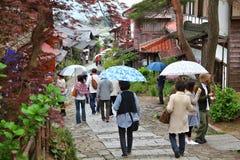 Magome, Japón Foto de archivo libre de regalías