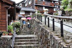 Magome, Japan Stock Photography