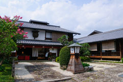 Magome-juku Royalty Free Stock Photo
