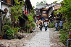 Magome-juku, Japan Stock Photography