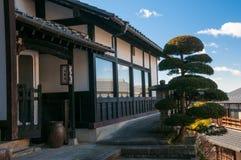 Magome stad, Japan Arkivfoto