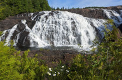 Magpie High Falls, Ontario, Canada Stock Images