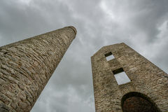 Magpie Mine Ruins Stock Photo