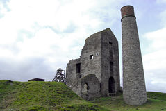 Magpie Mine at Sheldon, Derbyshire. The derelict Magpie Mine at Sheldon, Derbyshire Royalty Free Stock Image