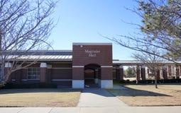 Magruder Hall på det Arkansas delstatsuniversitetMitt--söder banret, västra Memphis, Arkansas Royaltyfria Foton