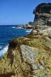 Magsapad Rock Formation. Of Biri, Northern Samar, Philippines Stock Image