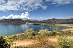 Maguga水坝,斯威士兰 免版税库存图片