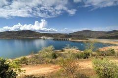Maguga fördämning, Swaziland Royaltyfri Bild