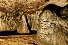 Magura洞,贝洛格拉奇克,保加利亚 免版税图库摄影
