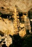 Magura洞,贝洛格拉奇克,保加利亚 免版税库存图片