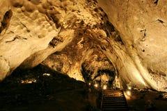 Magura洞,贝洛格拉奇克,保加利亚 图库摄影
