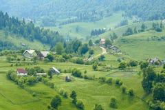 Magura - Dorflandschaft Stockbild