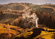 Magura krajobraz, Brasov Zdjęcia Royalty Free