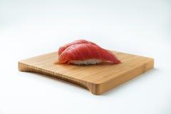 Maguro Nigiri寿司(金枪鱼) 库存图片