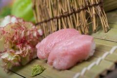 Maguro Nigiri Sushi Stock Photos