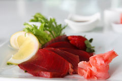 Maguro Sashimi Royalty Free Stock Images