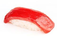 Maguro sushi med tonfiskfisken Royaltyfria Foton