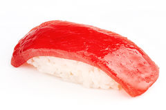 Maguro sushi with tuna fish Royalty Free Stock Photos