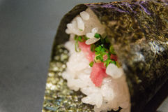 Maguro Temaki Royalty Free Stock Photography