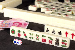 Mah jong game Royalty Free Stock Images