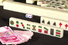 Mah jong game Stock Photos