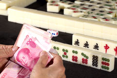 Mah jong game Royalty Free Stock Images