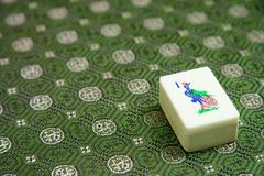 Mah Jong Tile Stock Photo